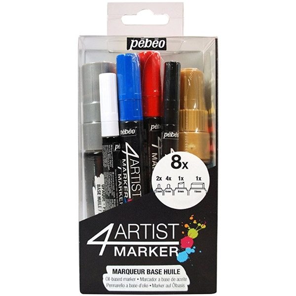 Artists Brushes Capable Aquastroke Watercolor Brush Pen Set Of 4 Assorted Crafts