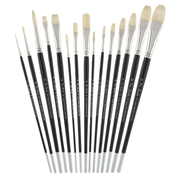 Pro Stroke Bristle Brush Value Set of 15