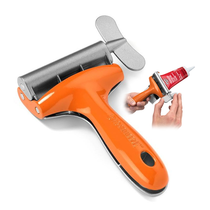 Professional-Grade Metal Tube Squeezer Silver Big Squeeze Tube Squeezing Tool