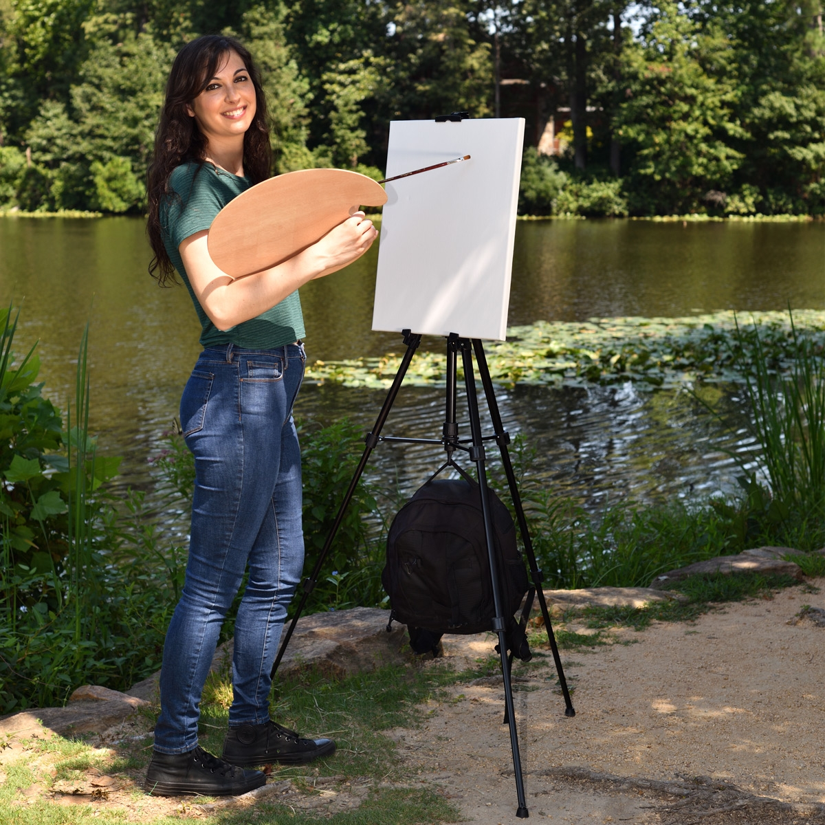 Valerri Lightweight Travel Easel by Creative Inspirations