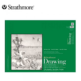 Strathmore 400 Series Drawing Pad 14x17