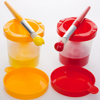 Painting 8oz Cups for Kids 240 Bulk Pack