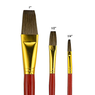 Fundamentals Short Handle Brush Sets