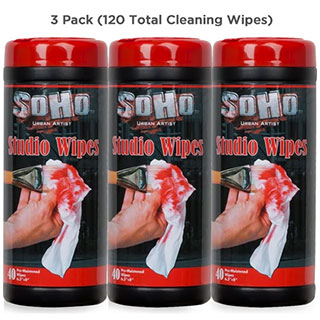 SoHo Urban Artist Artist Studio Wipes