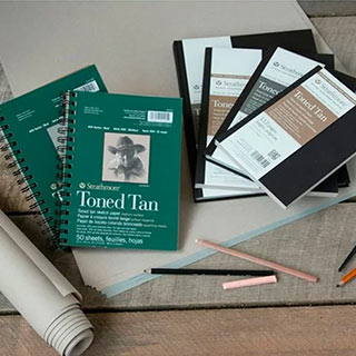 Strathmore 400 Series Recycled Toned Sketch Paper Pads