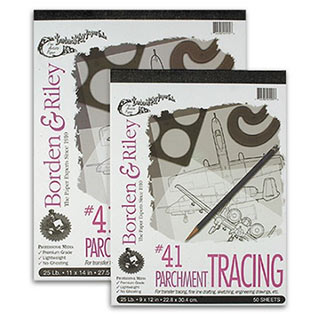 Borden & Riley Parchment Tracing Paper