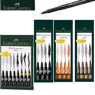 Faber-Castell Pitt Artist Drawing Pen Sets