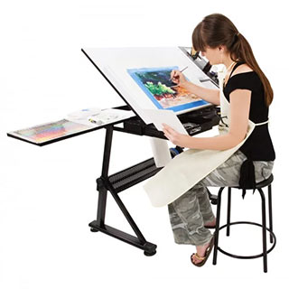 SoHo Urban Artist Table And Chair Set