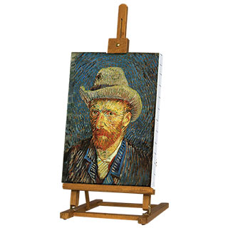Van Gogh Table Easel Oiled Beechwood Finish