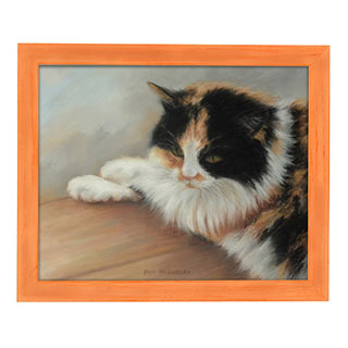 Millbrook Country Chic Narrow Bourbon Orange Frames