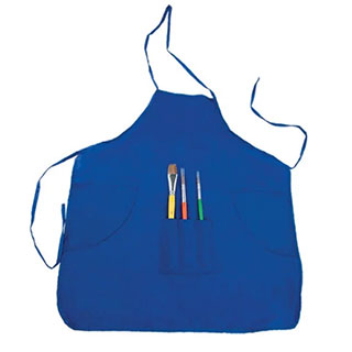 First Impressions Kids Art Smock And Brush Set