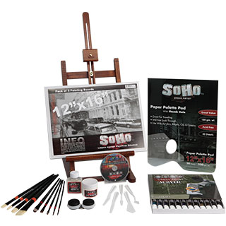 SoHo Urban Artist Acrylic Really Complete Painting Set