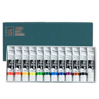 Turner Acryl Gouache Artist Acrylic Set of 12 20ml tubes
