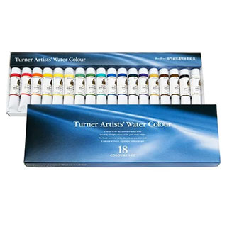 Turner Concentrated Artists' Professional Watercolor Set of 18