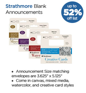 Shop Strathmore Blank Announcements
