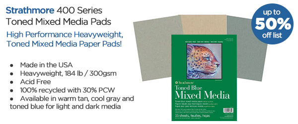Shop Strathmore 400 Series Toned Mixed Media Pads