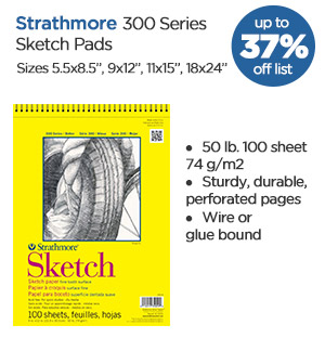 Shop Strathmore 300 Series Sketch Pads