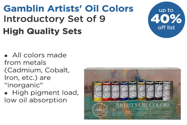 Shop Gamblin Artist Oil Color Sets