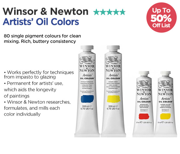 Shop Winsor & Newton Artists' Oil Colors