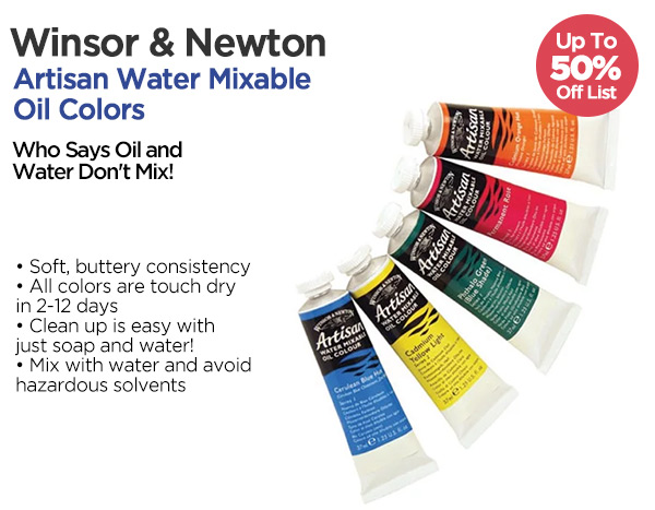 Shop Winsor & Newton Water Mixable Oil Colors