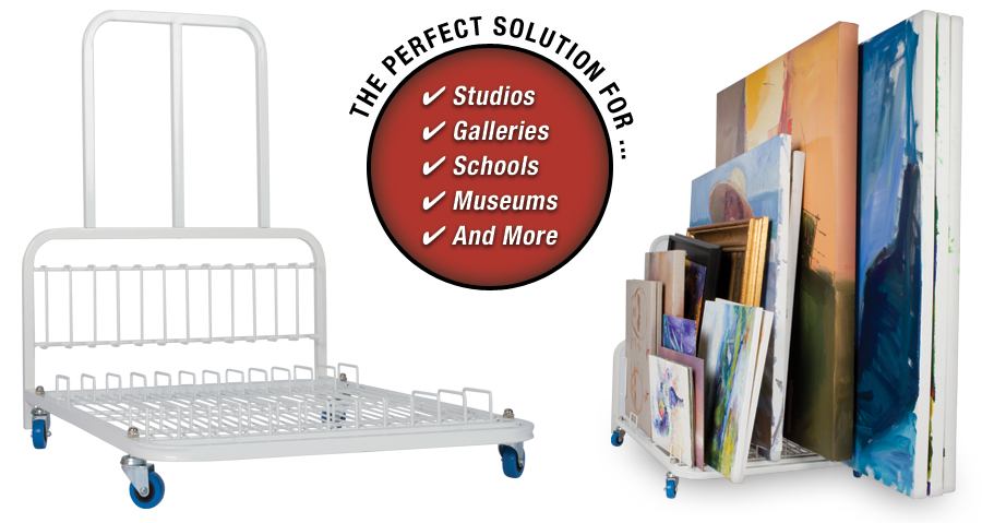 The perfect solution for studios, galleries, schools, museums and more.