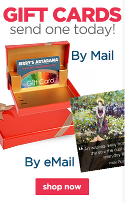 Art Gift Cards For Artists