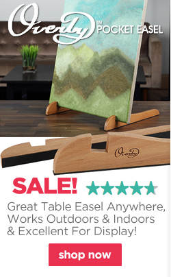 Great Table Easel Anywhere, Works Outdoors As Well As Indoors & Excellent For Display!