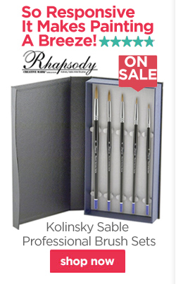 Rhapsody Kolinsky Sable Professional Brush Sets