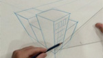 Three Point Perspective in Drawing