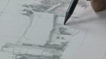 Sketching and Drawing: Using A Structure as Your Subject
