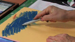 Blending Oil Pastels