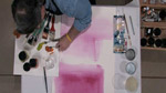 Working With Matisse Drying Retarder in Acrylics