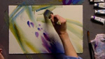 Painting Wisteria: Part 1 in Watercolors