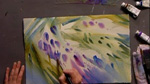 Painting Wisteria: Part 2 in Watercolors