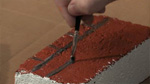 Painting Brick on Brick in Acrylic
