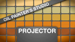 Oil Painters Studio: Projector