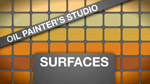 Oil Painters Studio: Surfaces
