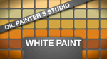 Oil Painters Studio: White Paints
