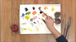 Color Mixing Techniques in Oils