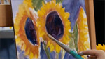 Getting Loose With Sunflowers in Oils