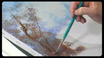 Detailing Trees in Acrylics