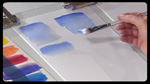 Making Gradients in Acrylics