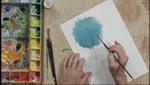 Abstract Gouache Techniques