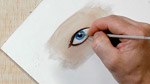How To Paint an Eye in Watercolor