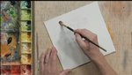 Using Salt in Art with Watercolors