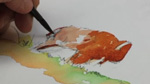 Animals of Yellowstone: Buffalo in Watercolors