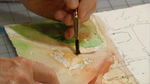 Keeping Color In The Landscape in Watercolor