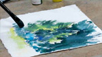 Painting Distant Trees in Watercolors