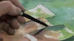 Textured Pots in Watercolors