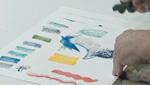 Using Cretacolor Aquabrique in Figure Drawing